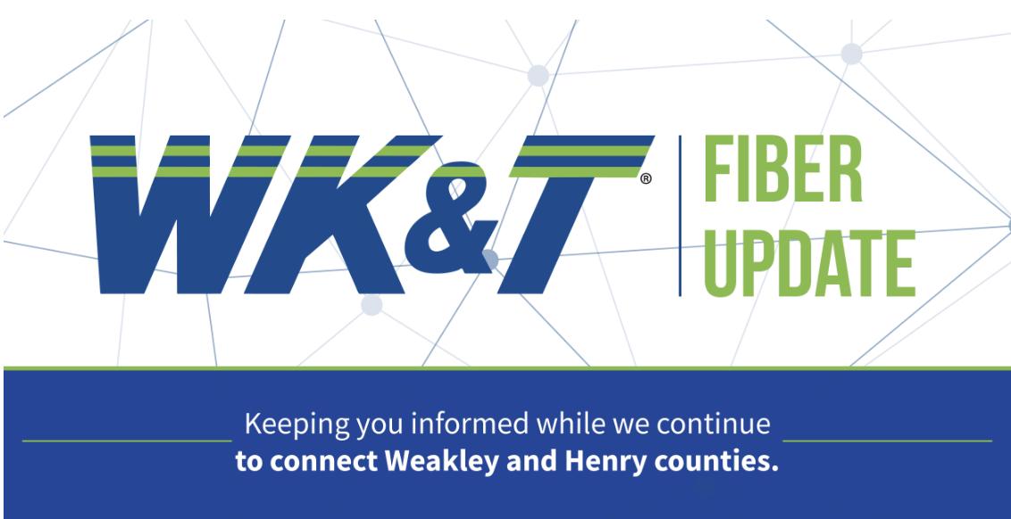 WK&T Fiber Update